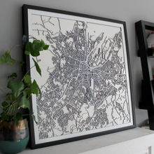 Belfast Street Carving Map (Sold Out)