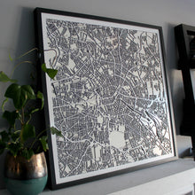 Berlin Street Carving Map (Sold Out)