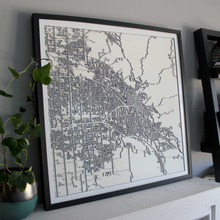 Boise Street Carving Map (Sold Out)