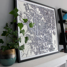 Colorado Springs Street Carving Map (Sold Out)