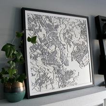 Charleston Street Carving Map (Sold Out)
