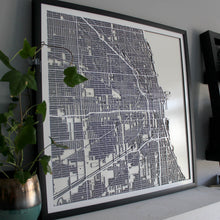 Chicago Street Carving Map (Sold Out)
