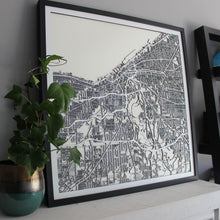 Cleveland Street Carving Map (Sold Out)