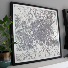 Columbia Street Carving Map (Sold Out)