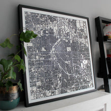 Denver Street Carving Map (Sold Out)