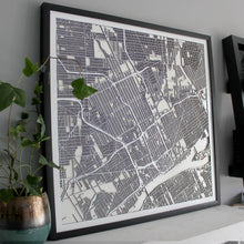 Detroit Street Carving Map (Sold Out)