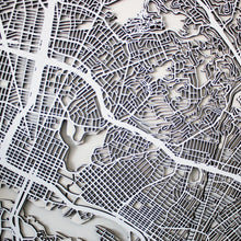 Oakland Street Carving Map (Sold Out)