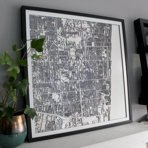 Fort Lauderdale Carving Map (Sold Out)
