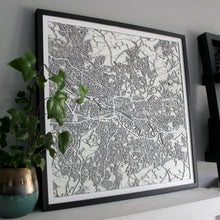 Glasgow Street Carving Map