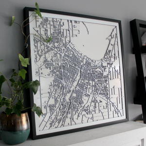 Green Bay Street Carving Map (Sold Out)