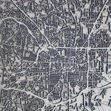 Greensboro Street Carving Map (Sold Out)