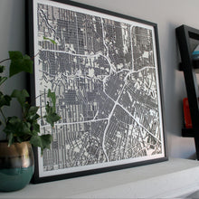 Houston Street Carving Map (Sold Out)
