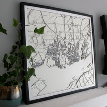 Kingston Street Carving Map (Sold Out)