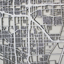 Los Angeles Street Carving Map (Sold Out)