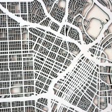 Los Angeles (Downtown) Street Carving Map (Sold Out)