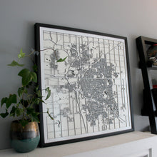 Lincoln Street Carving Map (Sold Out)