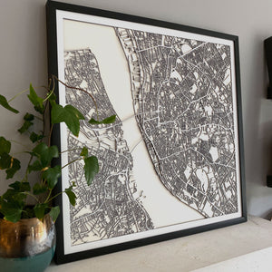 Liverpool Street Carving Map (Sold Out)