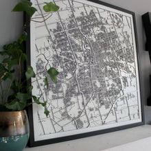 London (Ontario) Street Carving Map (Sold Out)