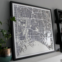 Long Beach Street Carving Map (Sold Out)