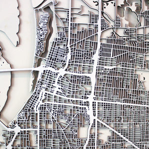 Memphis Street Carving Map (Sold Out)