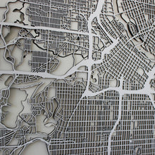 Minneapolis Street Carving Map (Sold Out)