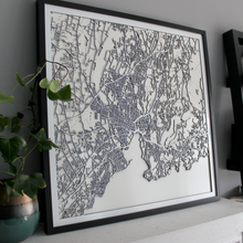 New Haven Street Carving Map (Sold Out)