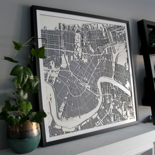 New Orleans Street Carving Map (Sold Out)