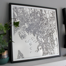 Oslo Street Carving Map (Sold Out)