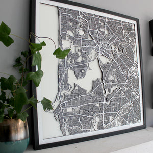 Perth Street Carving Map (Sold Out)
