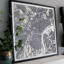 Philadelphia Street Carving Map (Sold Out)