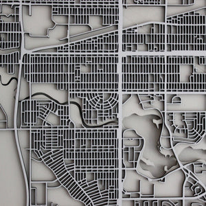 Regina Street Carving Map (Sold Out)