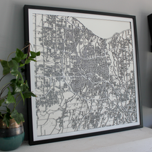 Rochester Street Carving Map (Sold Out)