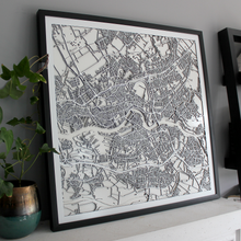 Rotterdam Street Carving Map (Sold Out)