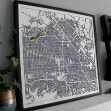 San Fernando Valley Street Carving Map (Sold Out)