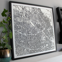 San Jose Street Carving Map (Sold Out)