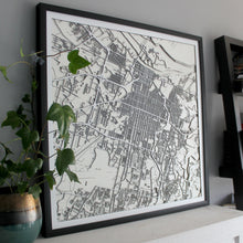 Savannah Street Carving Map (Sold Out)