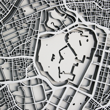 Tokyo Street Carving Map (Sold Out)