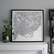 Toronto Street Carving Map (Sold Out)