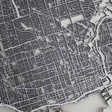 Toronto Street Carving Map