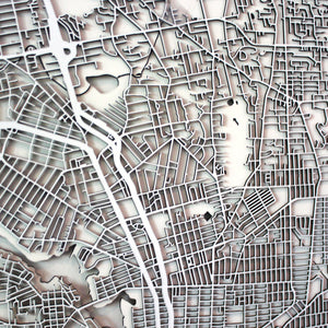 Victoria Street Carving Map