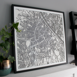 Vienna Street Carving Map (Sold Out)