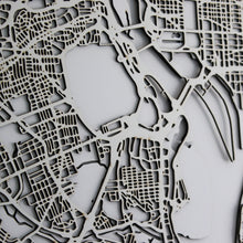 Washington Street Carving Map