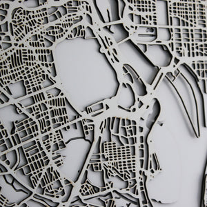 Washington Street Carving Map (Sold Out)