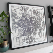 Wichita Carving Map (Sold Out)