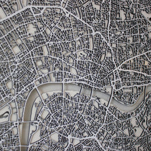 London Street Carving Map (Sold Out)