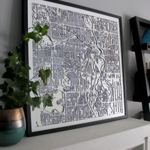 Calgary Street Carving Map (Sold Out)