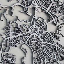 Canberra Street Carving Map (Sold Out)
