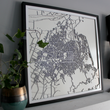 Christchurch Street Carving Map (Sold Out)