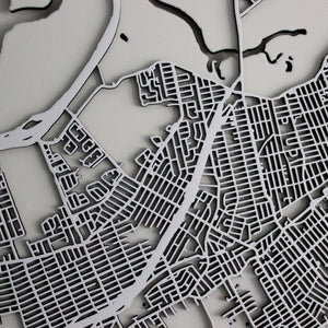 Staten Island Street Carving Map (Sold Out)