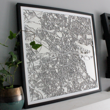 Dublin Street Carving Map (Sold Out)